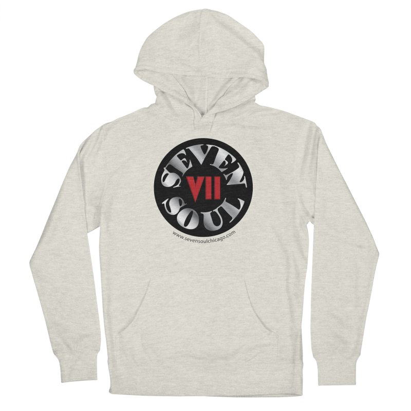 Classic Logo Men's French Terry Pullover Hoody by Seven Soul Shop