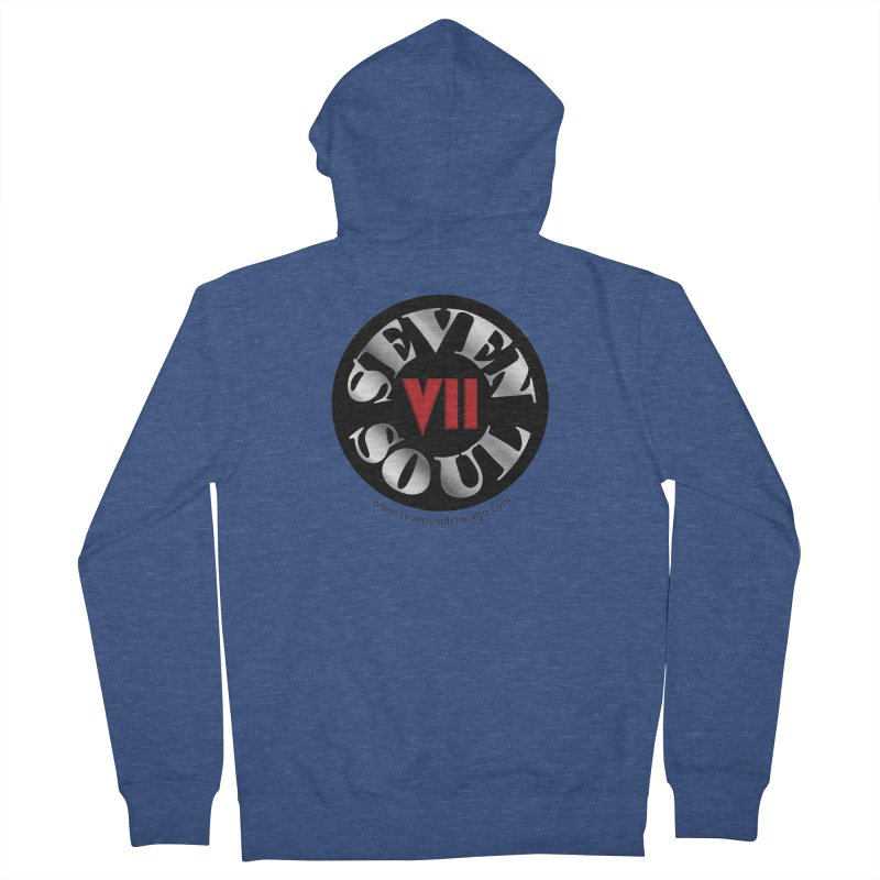 Classic Logo Women's French Terry Zip-Up Hoody by Seven Soul Shop