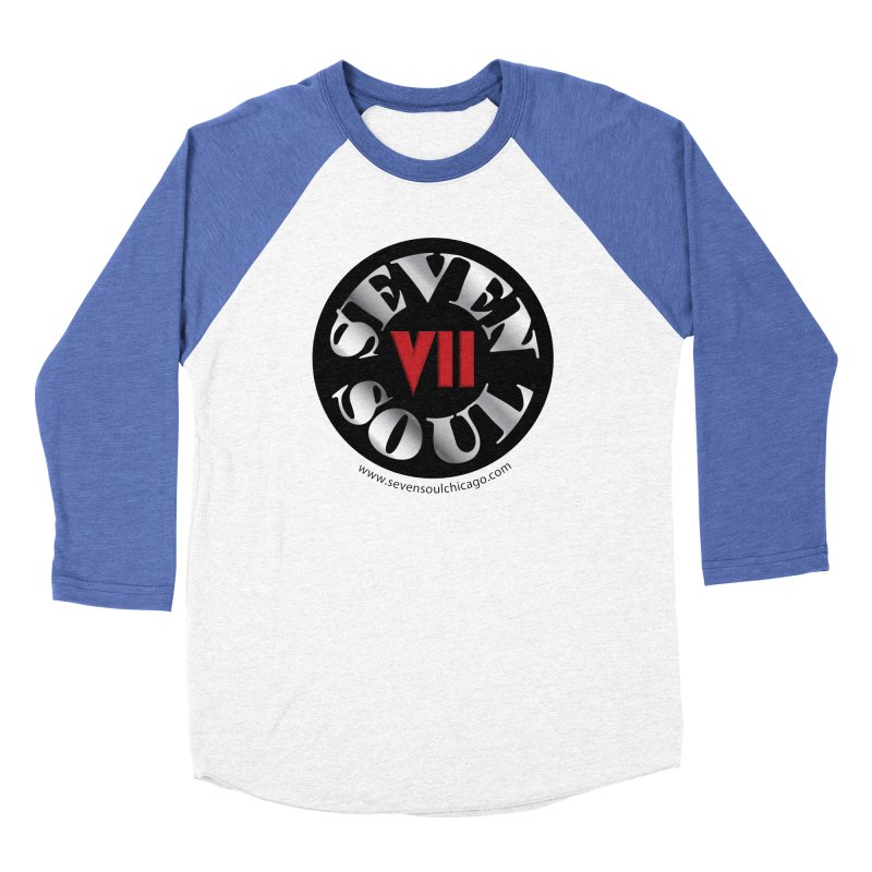 Classic Logo Women's Baseball Triblend Longsleeve T-Shirt by Seven Soul Shop