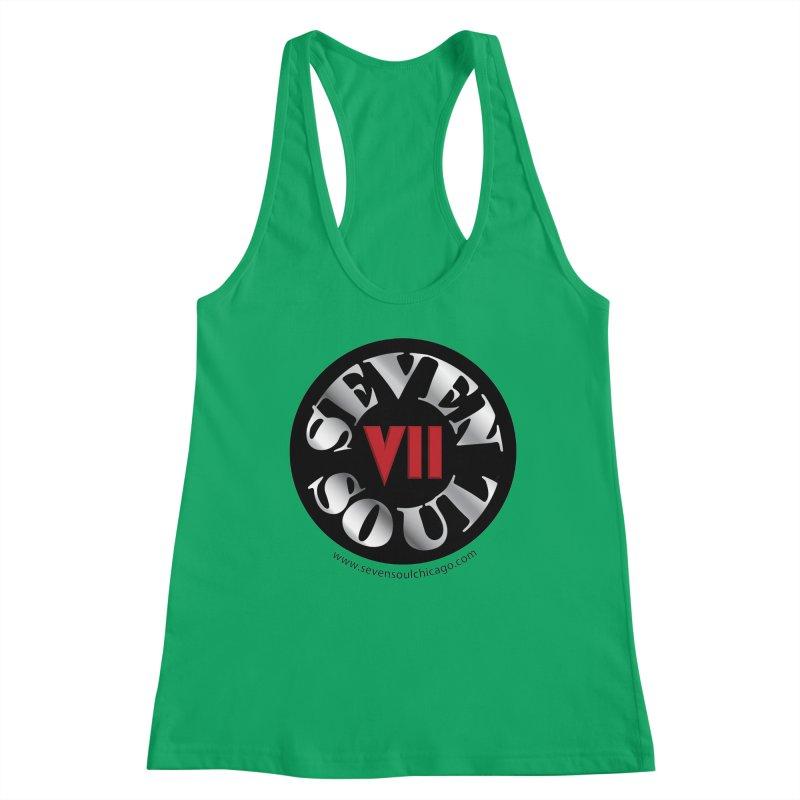 Classic Logo Women's Racerback Tank by Seven Soul Shop