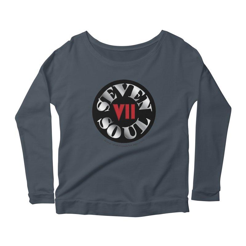 Classic Logo Women's Scoop Neck Longsleeve T-Shirt by Seven Soul Shop