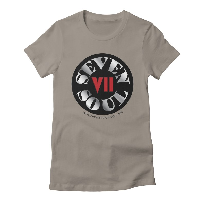 Classic Logo Women's Fitted T-Shirt by Seven Soul Shop