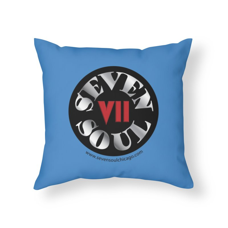 Classic Logo Home Throw Pillow by Seven Soul Shop