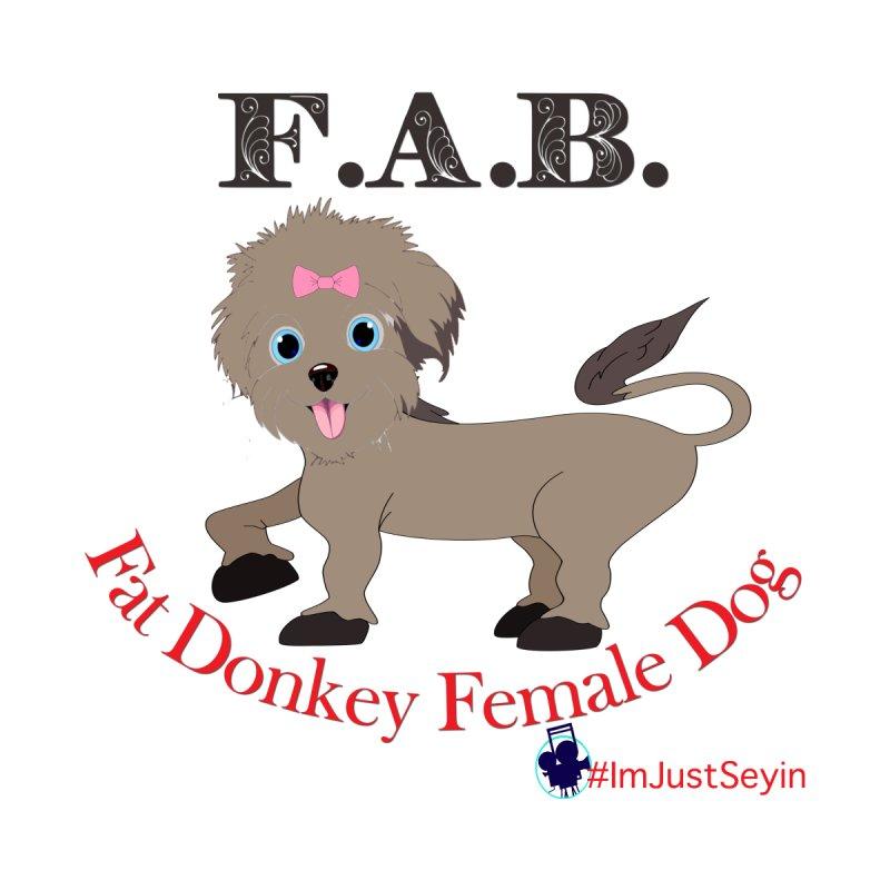 FAB Women's Zip-Up Hoody by I'm Just Seyin' Shoppe