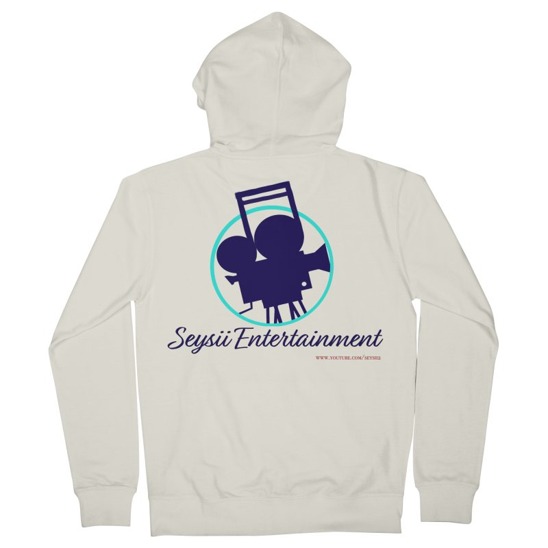 Seysii Entertainment Logo Women's French Terry Zip-Up Hoody by I'm Just Seyin' Shoppe