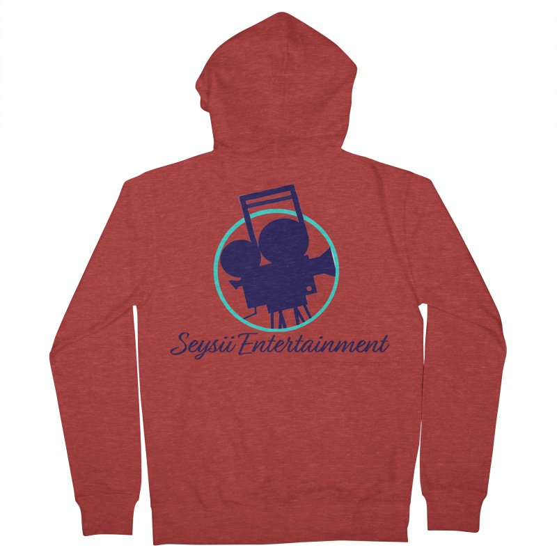Seysii Entertainment Logo Men's French Terry Zip-Up Hoody by I'm Just Seyin' Shoppe