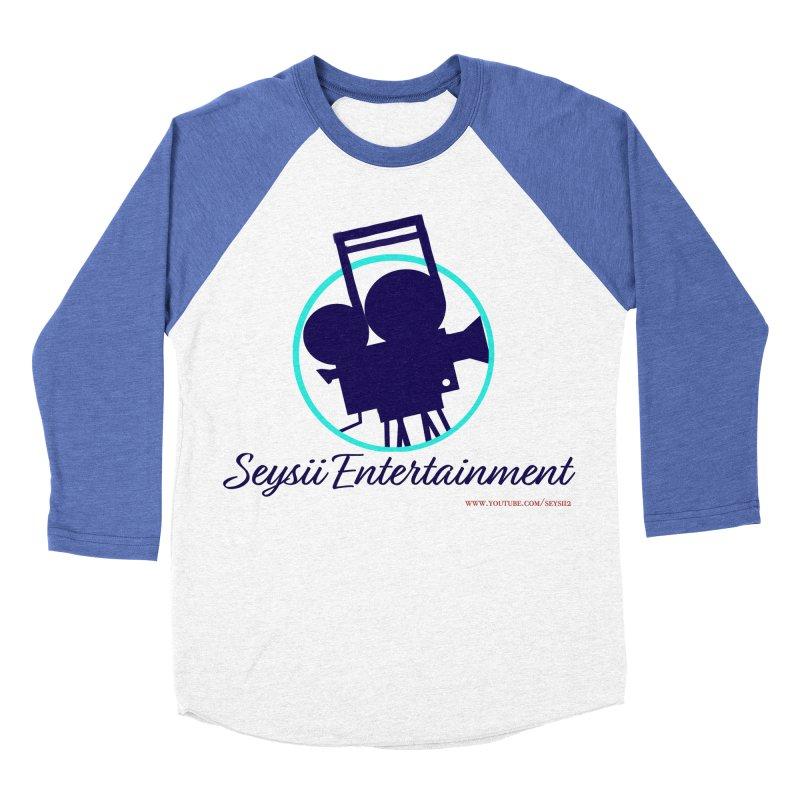 Seysii Entertainment Logo Women's Baseball Triblend Longsleeve T-Shirt by I'm Just Seyin' Shoppe
