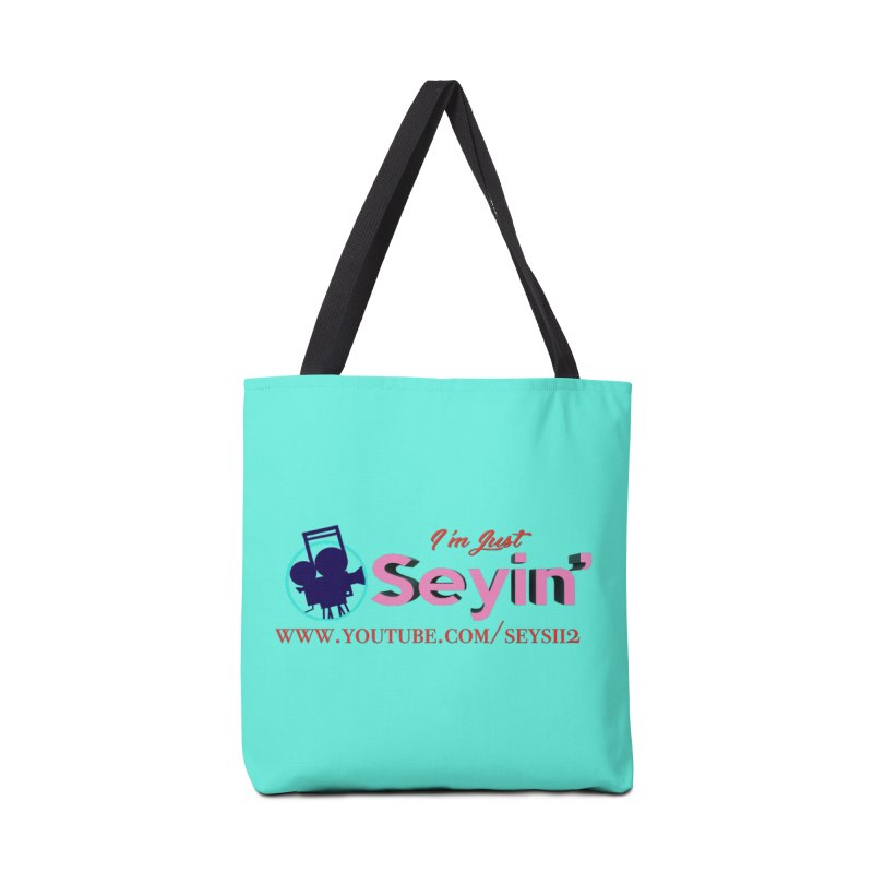 Youtube Accessories Tote Bag Bag by I'm Just Seyin' Shoppe