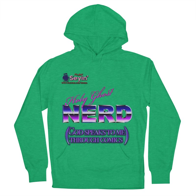Comic Men's French Terry Pullover Hoody by I'm Just Seyin' Shoppe