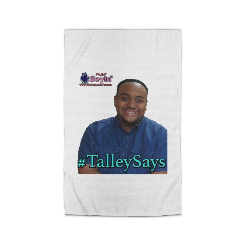 Talley Says Home Rug by I'm Just Seyin' Shoppe