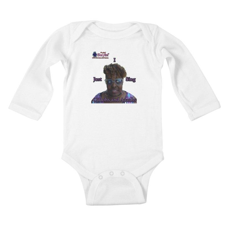 Oooohs and Aaaahs Kids Baby Longsleeve Bodysuit by I'm Just Seyin' Shoppe