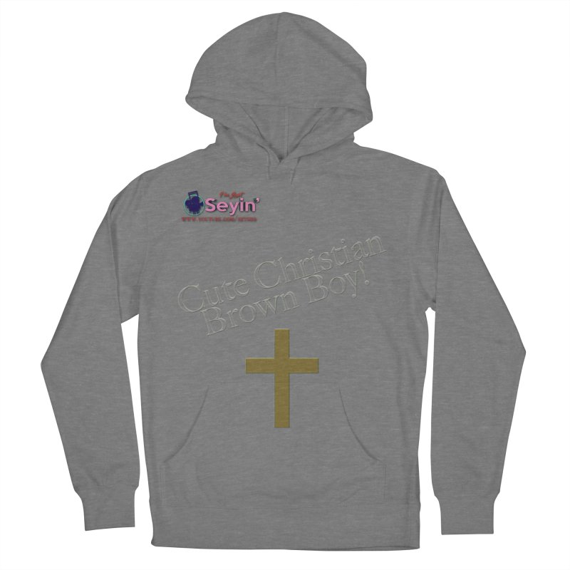 Cute Christian Brown Boy 2 Women's Pullover Hoody by I'm Just Seyin' Shoppe