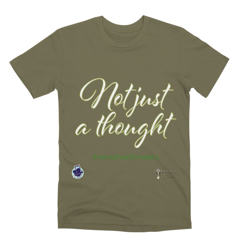 Not Just A Thought Men's Premium T-Shirt by I'm Just Seyin' Shoppe