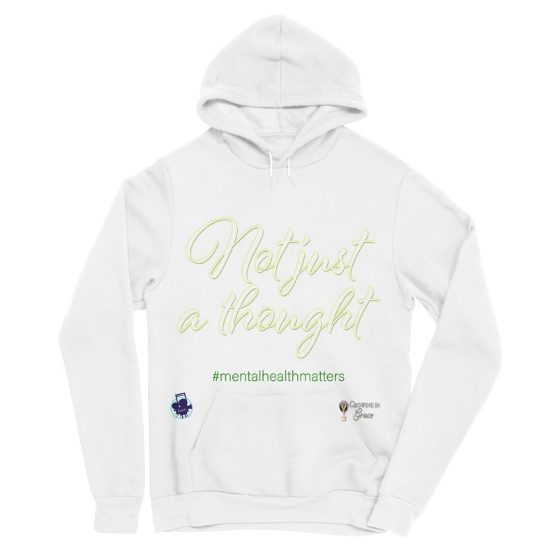 Not Just A Thought Men's Sponge Fleece Pullover Hoody by I'm Just Seyin' Shoppe