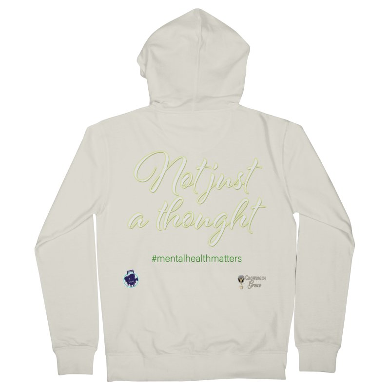 Not Just A Thought Women's French Terry Zip-Up Hoody by I'm Just Seyin' Shoppe