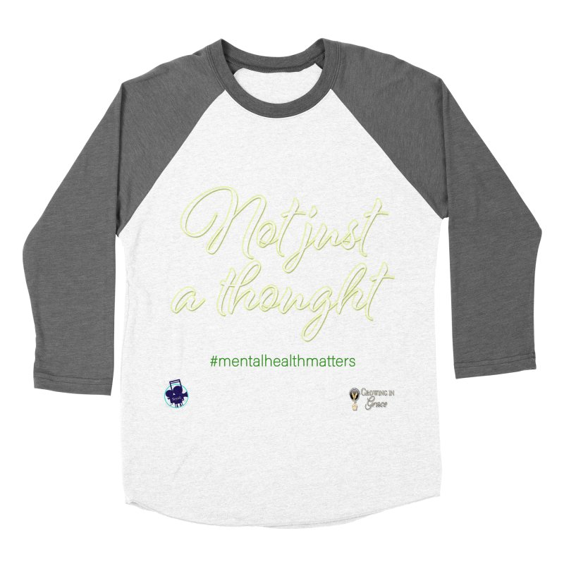 Not Just A Thought Women's Longsleeve T-Shirt by I'm Just Seyin' Shoppe