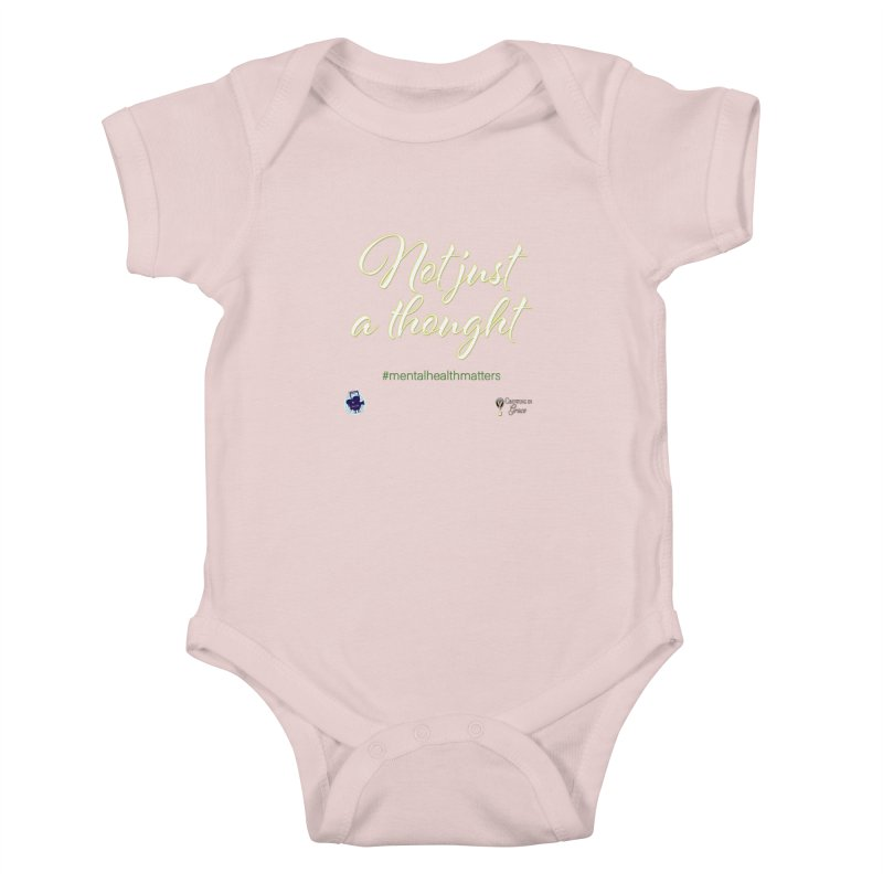 Not Just A Thought Kids Baby Bodysuit by I'm Just Seyin' Shoppe