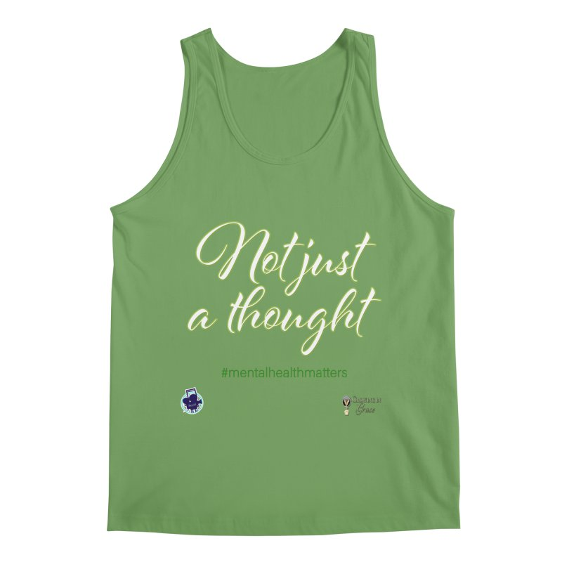 Not Just A Thought Men's Tank by I'm Just Seyin' Shoppe