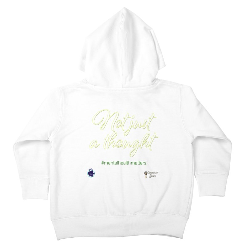 Not Just A Thought Kids Toddler Zip-Up Hoody by I'm Just Seyin' Shoppe