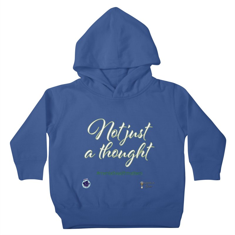 Not Just A Thought Kids Toddler Pullover Hoody by I'm Just Seyin' Shoppe