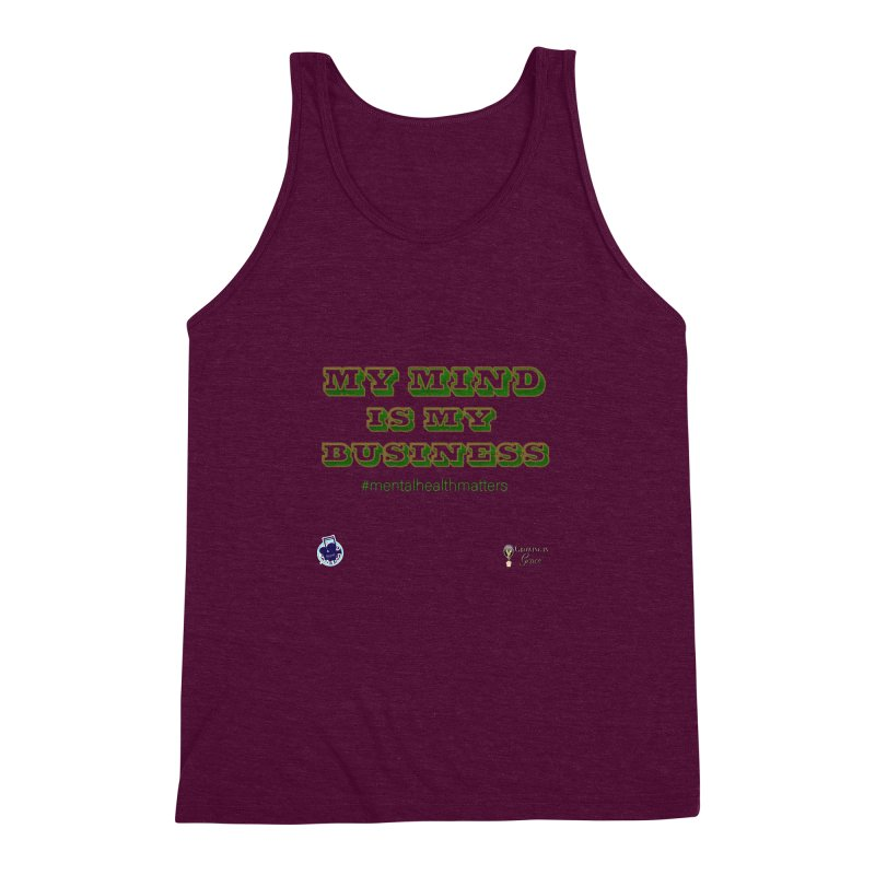 My Mind Is My Business Men's Triblend Tank by I'm Just Seyin' Shoppe