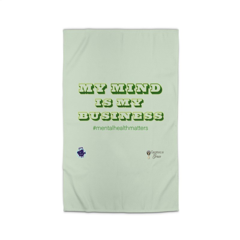 My Mind Is My Business Home Rug by I'm Just Seyin' Shoppe