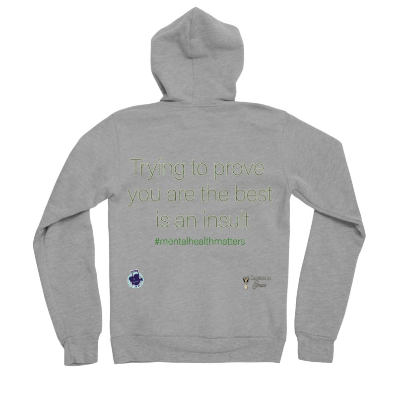 Insult Women's Sponge Fleece Zip-Up Hoody by I'm Just Seyin' Shoppe