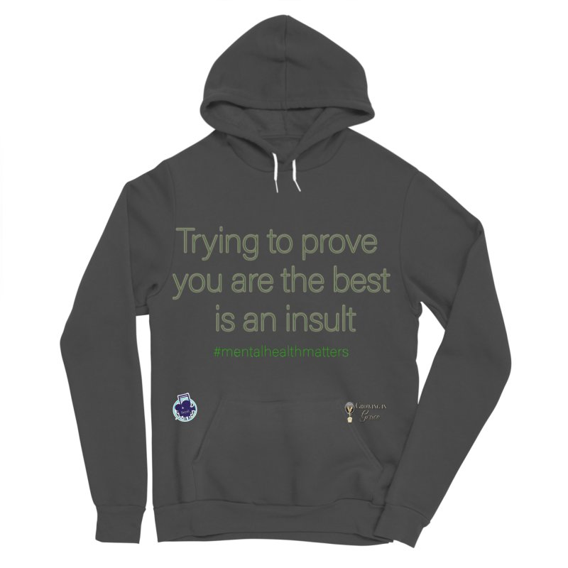 Insult Men's Sponge Fleece Pullover Hoody by I'm Just Seyin' Shoppe