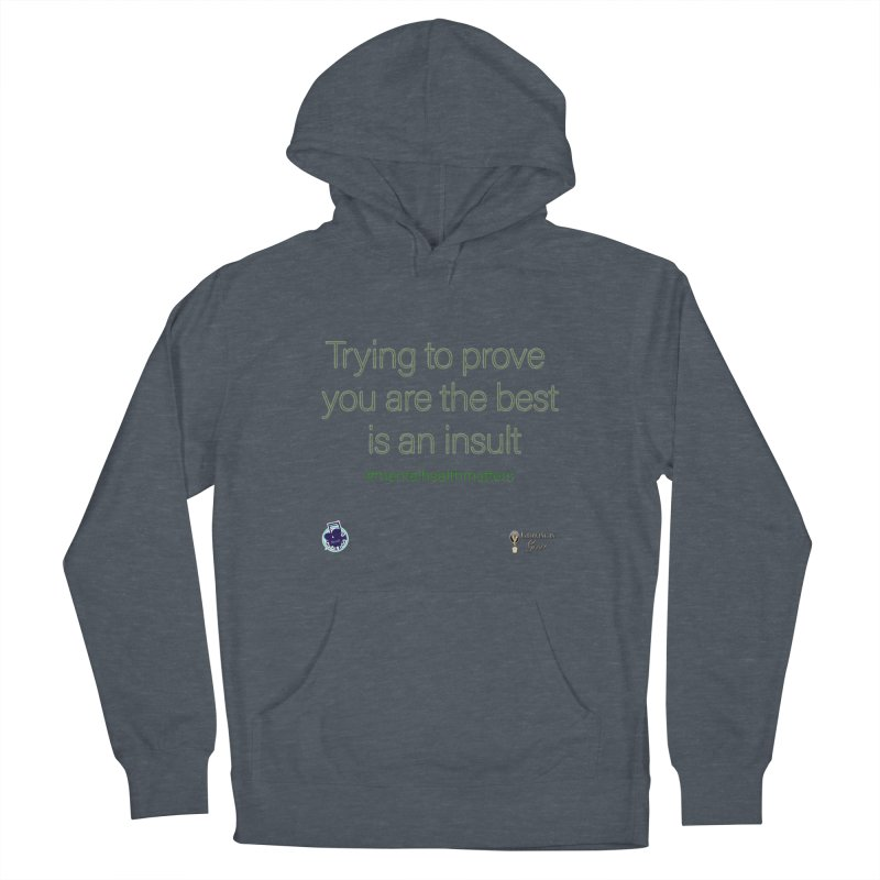 Insult Women's Pullover Hoody by I'm Just Seyin' Shoppe