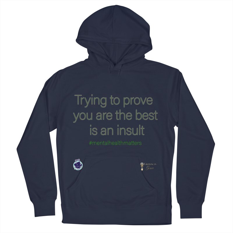 Insult Men's Pullover Hoody by I'm Just Seyin' Shoppe