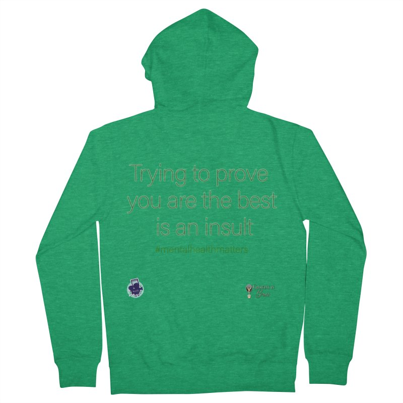 Insult Men's Zip-Up Hoody by I'm Just Seyin' Shoppe