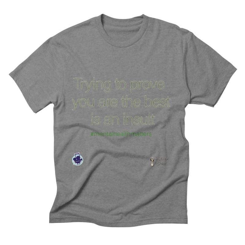 Insult Men's Triblend T-Shirt by I'm Just Seyin' Shoppe