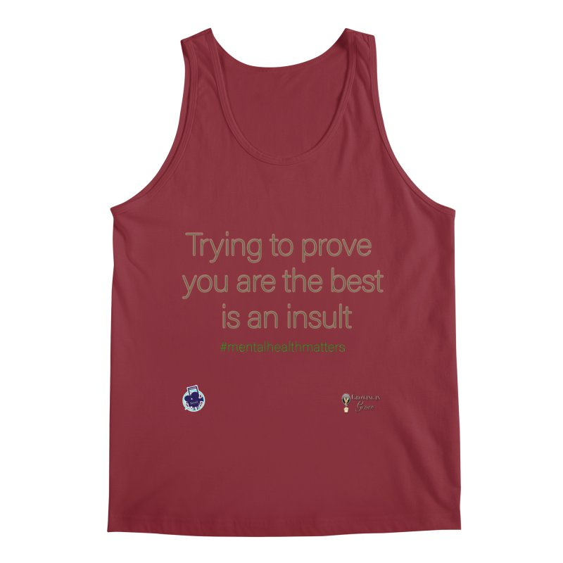 Insult Men's Regular Tank by I'm Just Seyin' Shoppe