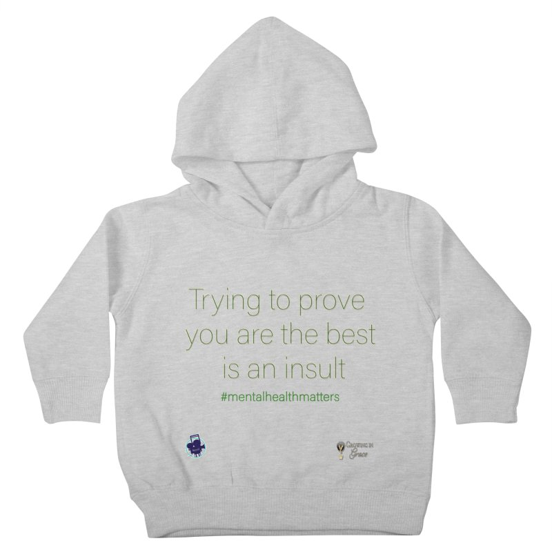 Insult Kids Toddler Pullover Hoody by I'm Just Seyin' Shoppe