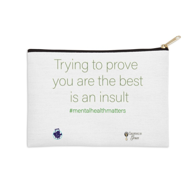 Insult Accessories Zip Pouch by I'm Just Seyin' Shoppe