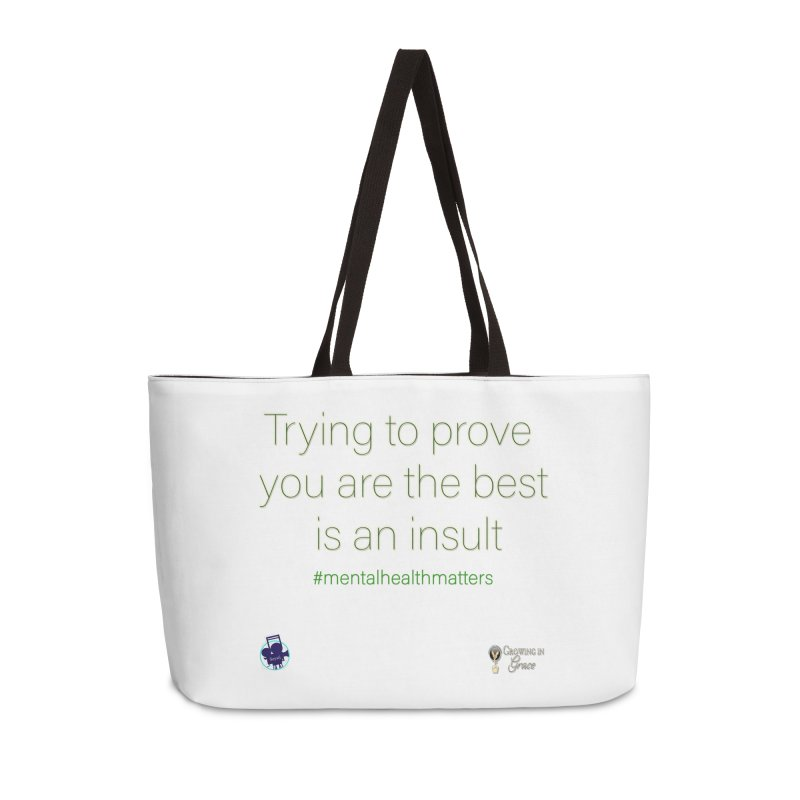 Insult Accessories Weekender Bag Bag by I'm Just Seyin' Shoppe