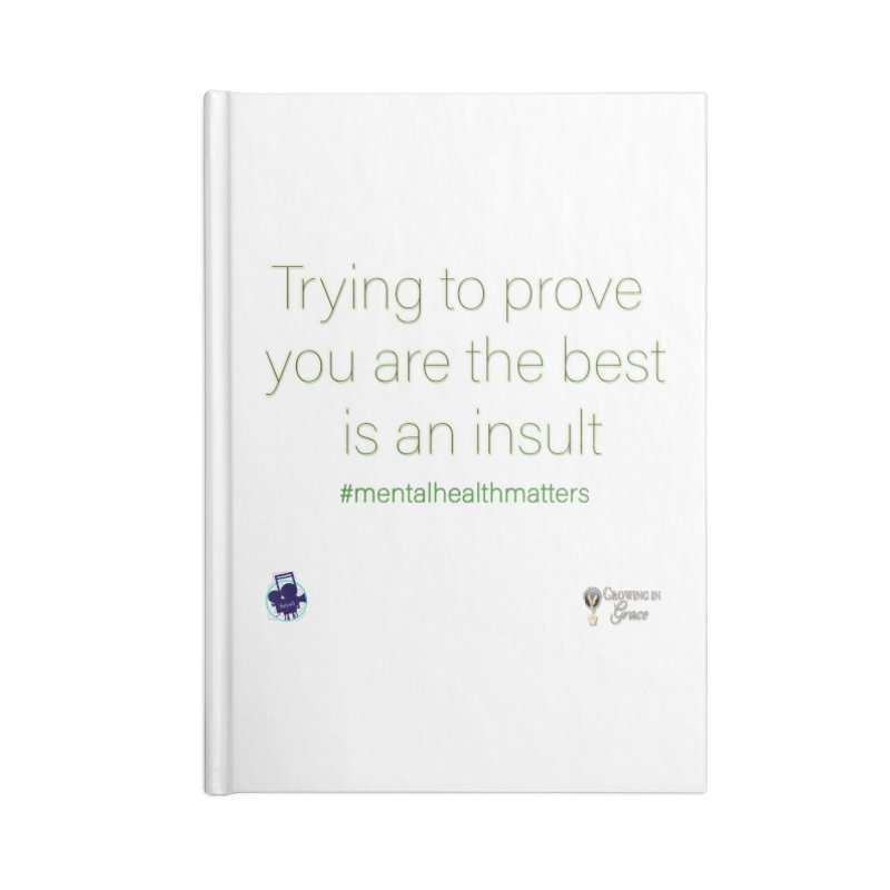 Insult Accessories Lined Journal Notebook by I'm Just Seyin' Shoppe