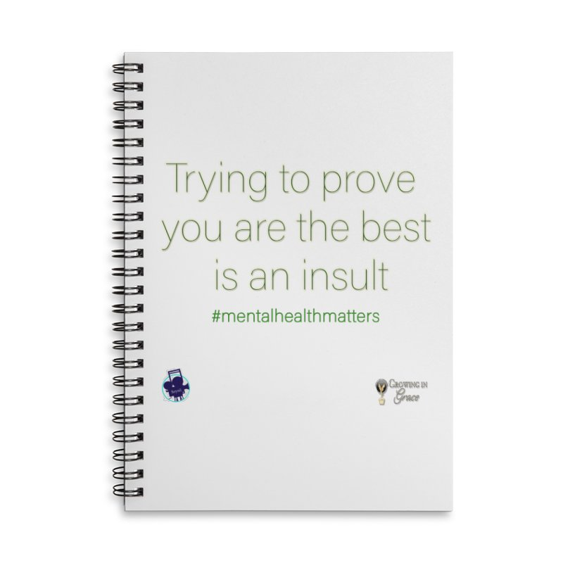 Insult Accessories Notebook by I'm Just Seyin' Shoppe