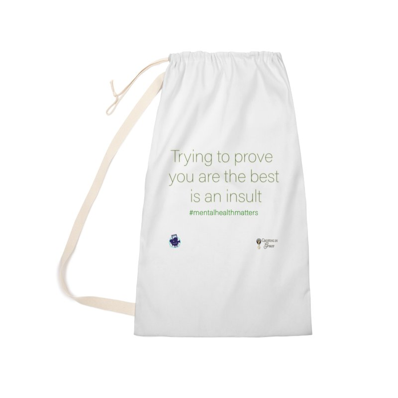 Insult Accessories Laundry Bag Bag by I'm Just Seyin' Shoppe