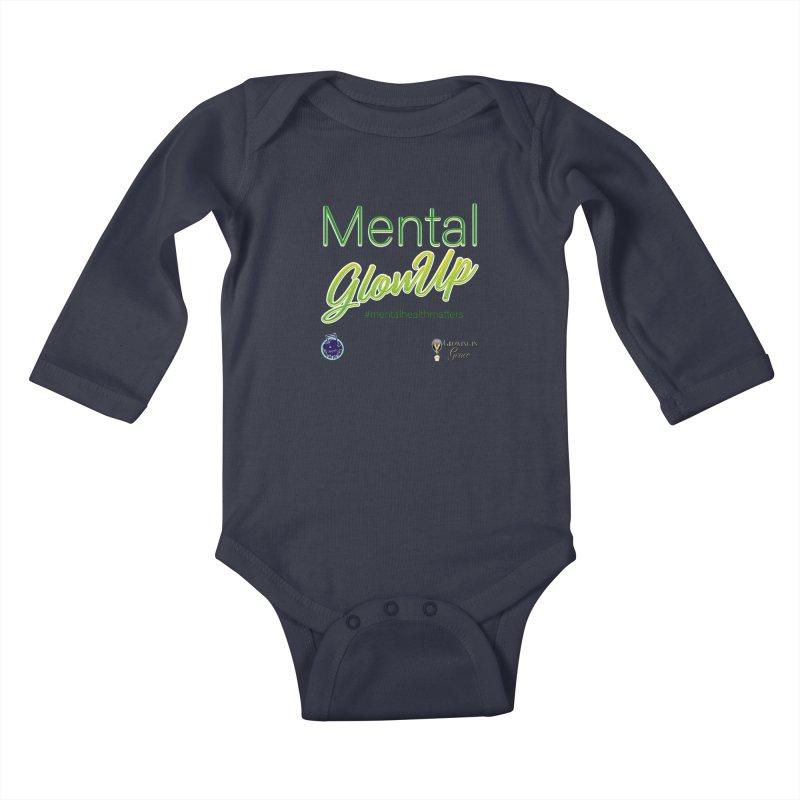 Mental GlowUP Kids Baby Longsleeve Bodysuit by I'm Just Seyin' Shoppe