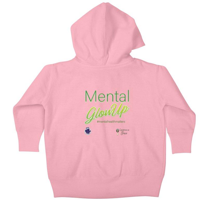 Mental GlowUP Kids Baby Zip-Up Hoody by I'm Just Seyin' Shoppe