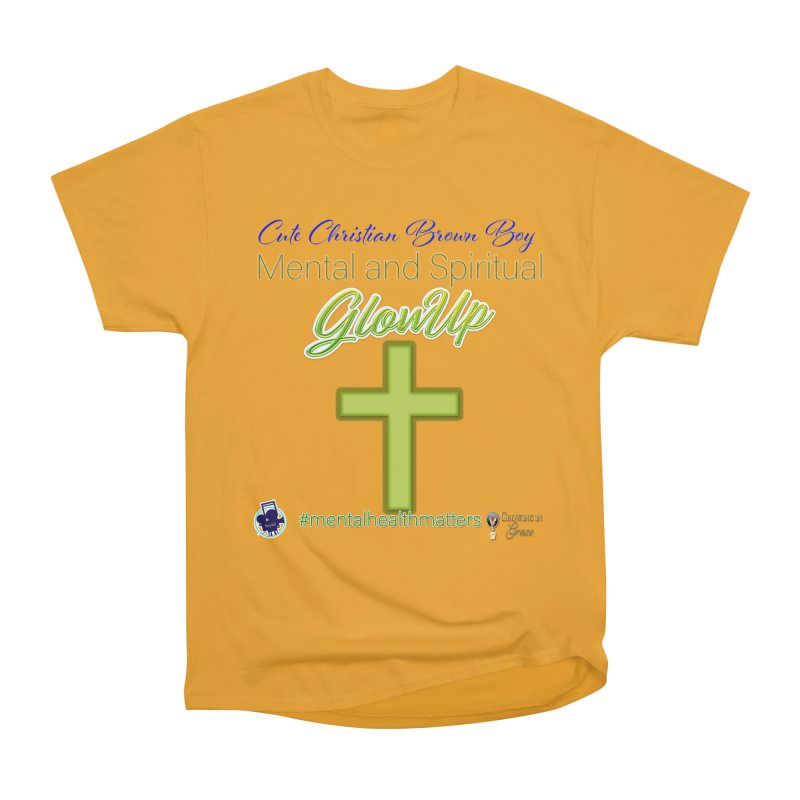 CCBB GlowUp Women's Heavyweight Unisex T-Shirt by I'm Just Seyin' Shoppe