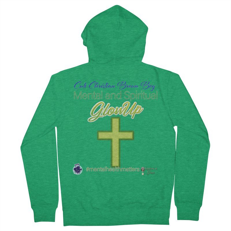 CCBB GlowUp Men's Zip-Up Hoody by I'm Just Seyin' Shoppe