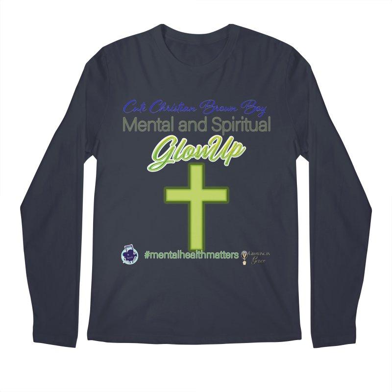 CCBB GlowUp Men's Regular Longsleeve T-Shirt by I'm Just Seyin' Shoppe