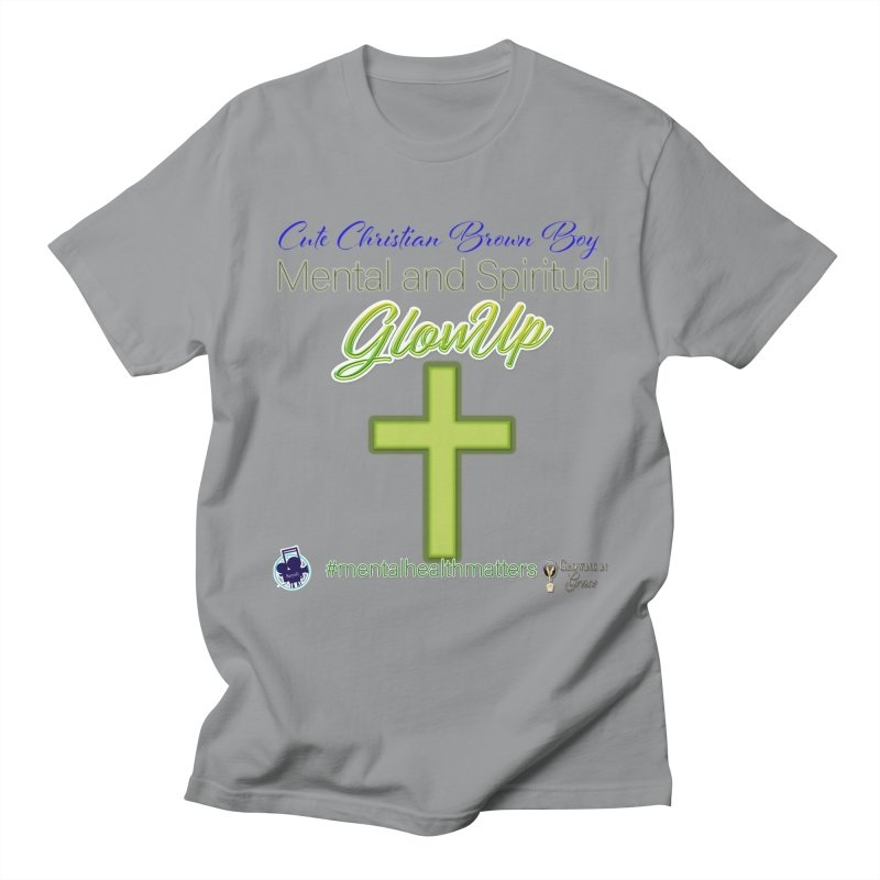 CCBB GlowUp Men's Regular T-Shirt by I'm Just Seyin' Shoppe