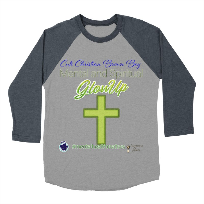CCBB GlowUp Men's Baseball Triblend Longsleeve T-Shirt by I'm Just Seyin' Shoppe