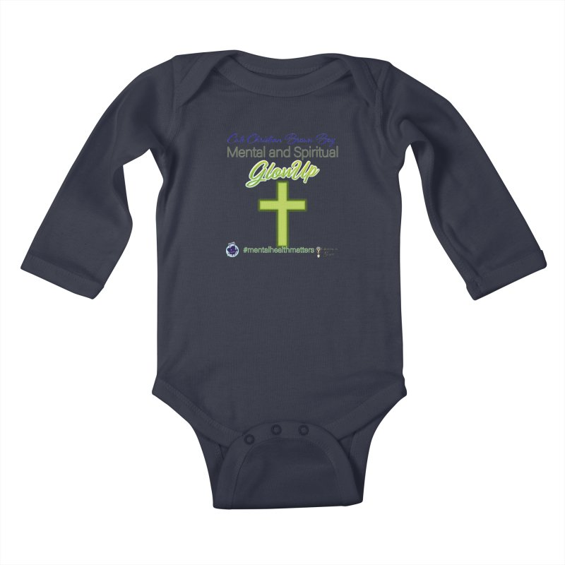CCBB GlowUp Kids Baby Longsleeve Bodysuit by I'm Just Seyin' Shoppe