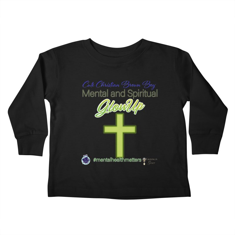 CCBB GlowUp Kids Toddler Longsleeve T-Shirt by I'm Just Seyin' Shoppe