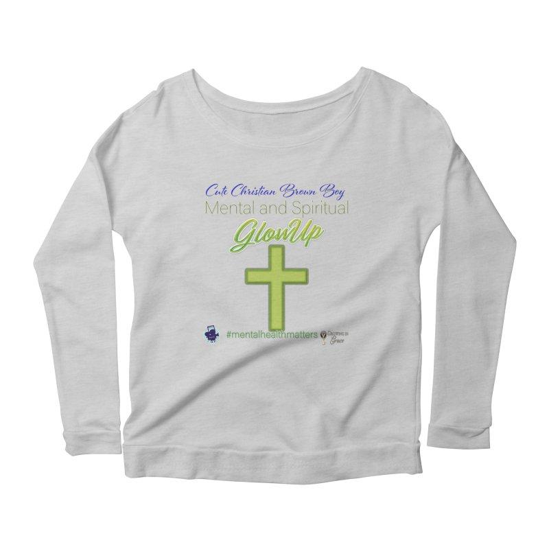 CCBB GlowUp Women's Scoop Neck Longsleeve T-Shirt by I'm Just Seyin' Shoppe