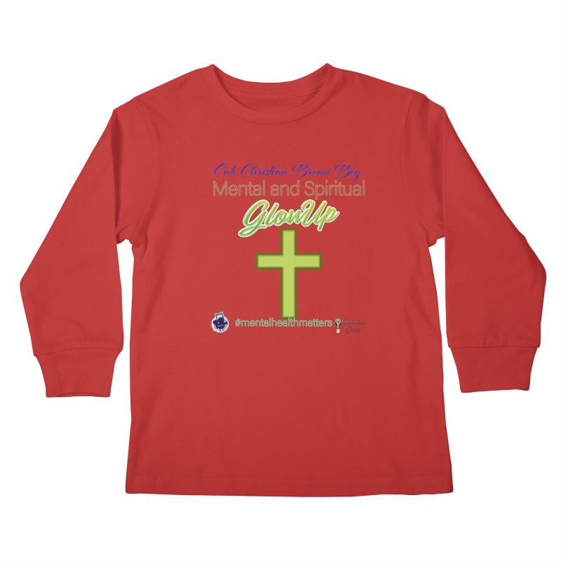 CCBB GlowUp Kids Longsleeve T-Shirt by I'm Just Seyin' Shoppe